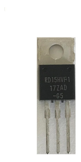 Transistor De Potência Rd15hvf1 Rd 15hvf1 Original Rf