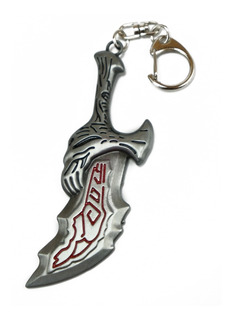 Llavero Importado God Of War Espada Kratos Blade Of Chaos