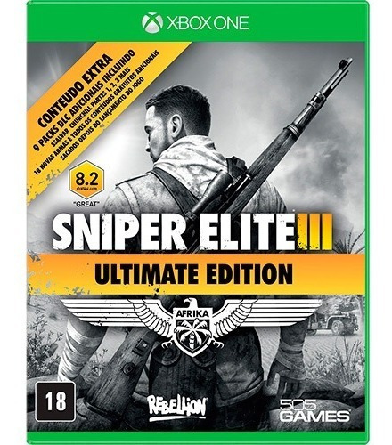 Sniper Elite 3 Ultimate Xbox One - 25 Dígitos