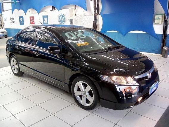 Honda Civic New Lxs 1.8 (aut) (flex) Financiamos Em Até 48x