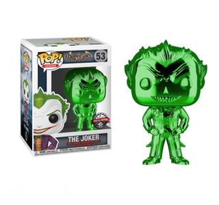 Funko Pop! El Guason/the Joker Green Chrome Exclusive 53