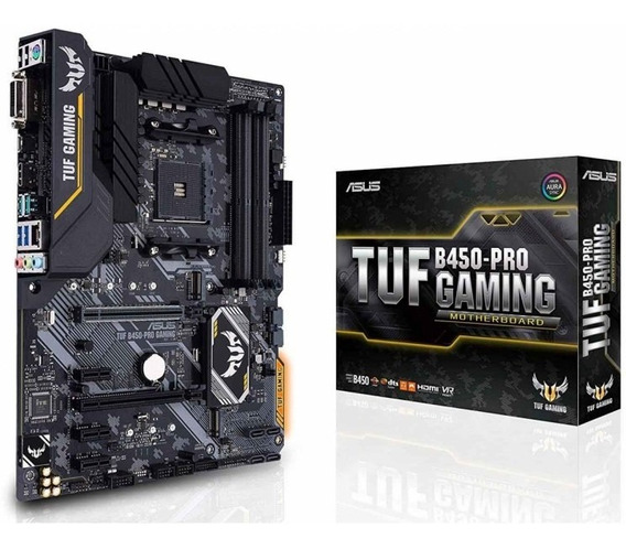 Placa Mae Am4 Asus Tuf B450-pro Gaming