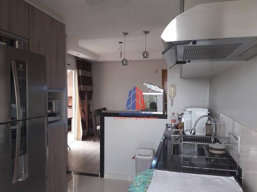 Apartamento Com 2 Dormitórios À Venda, 54 M² Por R$ 250.000 - Residencial Tatiana - Vila Dainese - Americana/sp - Ap1032
