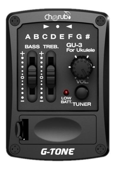 Micrófono Ecualizador Ukelele C/afinador