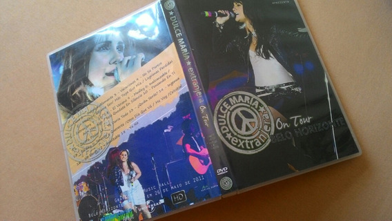 Dvd - Dulce María: Extranjera On Tour - Live In Bh/brazil