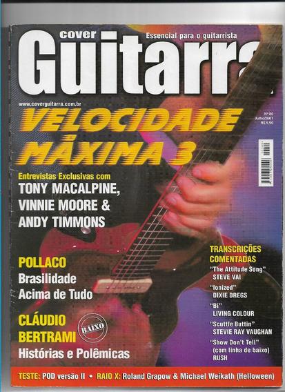 Cover Guitarra 80 Revista Velocidade Máxima 3