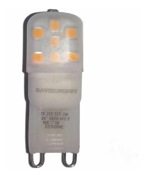 Lâmpada G9 Led 2w Para Lustre Plafon Arandela Luminária