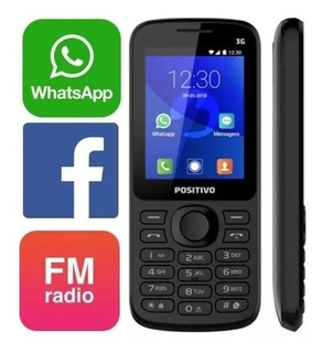 Celular Positivo P70s 3g Wi-fi Facebook Whatsapp Fm Camera