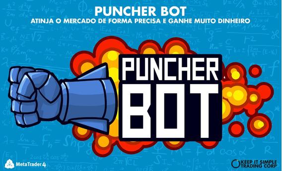 Puncher Bot O Melhor E Mais Lucrativo Robô Forex Do Momento!