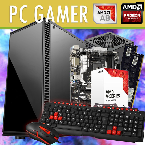 Cpu Pc Gamer Barato Ddr4 8gb Hd 500gb Ou 120ssd Qualidade