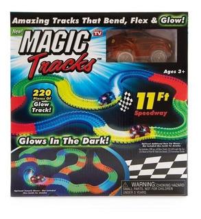 Pista De Carreras Con Luces Magic Tracks