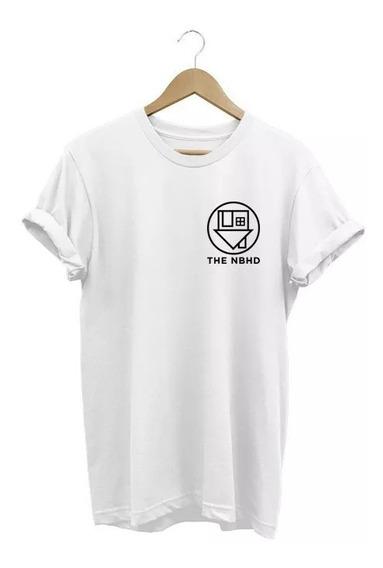 Camiseta Feminina The Neighbourhood Nbhd Baby Look 2019