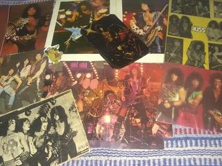 Kiss-11 Fotos (posters)revista Pelo,metal,kiss