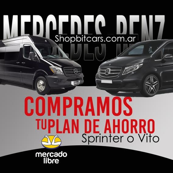 Compramos Tu Plan Mercedes Benz Utilitario Al Mejor Precio.