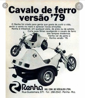 Triciclo Renha Origi Triciclo Renha Origi
