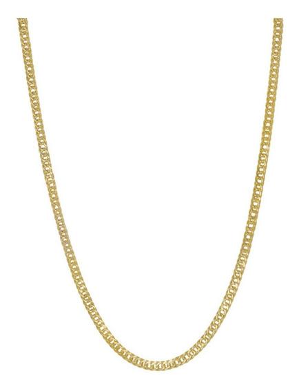 Corrente Grumet Elo Duplo Ouro 18k 70cm 4mm