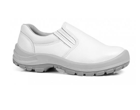 Sapato Tênis Branco Fujiwara Com Elástico 90hlst600 Ca 25686