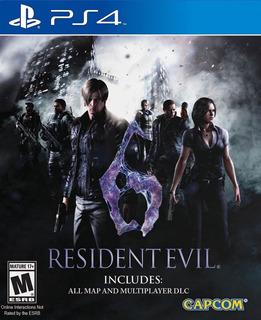 Resident Evil 6 ~ Ps4 Digital Español