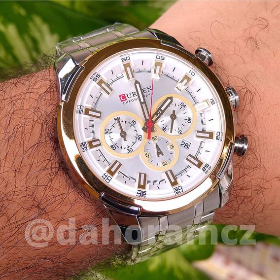 Relógio Masculino Curren 8361 Original Barato E De Qualidade