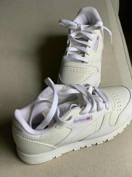 Zapatillas Blancas Reebok Niño. Sin Uso. Inmaculadas!!