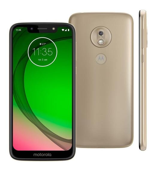 Smartphone Motorola Moto G7 Play Xt1952 32gb 13mp Ouro