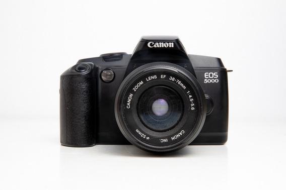 Câmera Fotográfica Canon Eos 5000 Com Lente 38-76mm