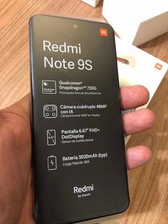 Xiaomi Note 9s Azul 64gb 4gb Ram Novo Embalagem Lacrada