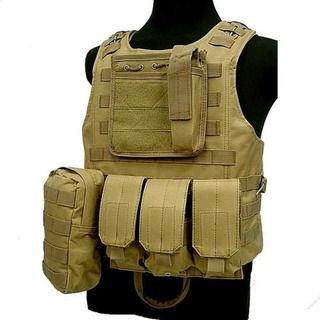 Chaleco Tactico Airsoft Molle Militar