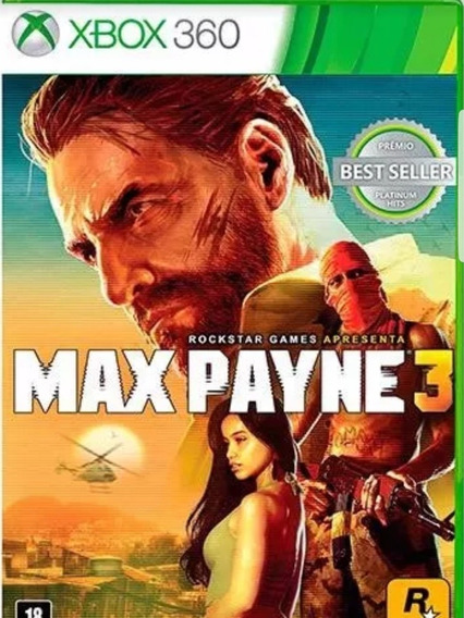 Max Payne 3-xbox 360-midia Digital