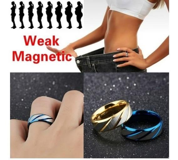 Anillo Magnético Terapia Reducción Peso #6,7,8,9,10 + Regalo