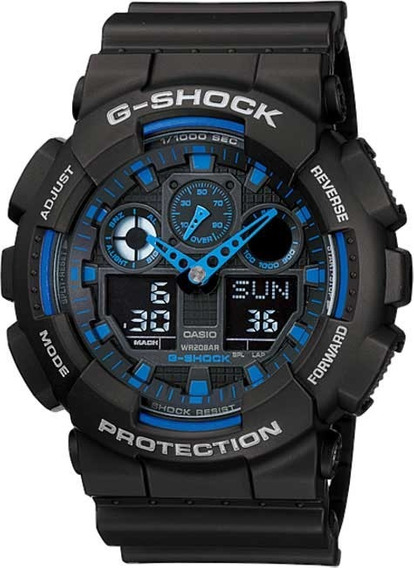 Relógio Casio G-shock Ga-100-1a2dr *three Eye