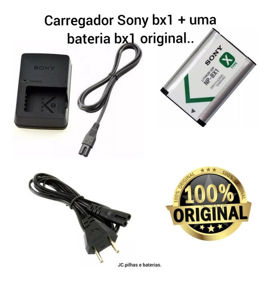Kit Carregador Bx1 + Bateria Bx1 Sony