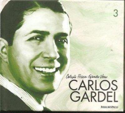 Carlos Gardel - Coleção Folha Grandes Vozes - Com Cd
