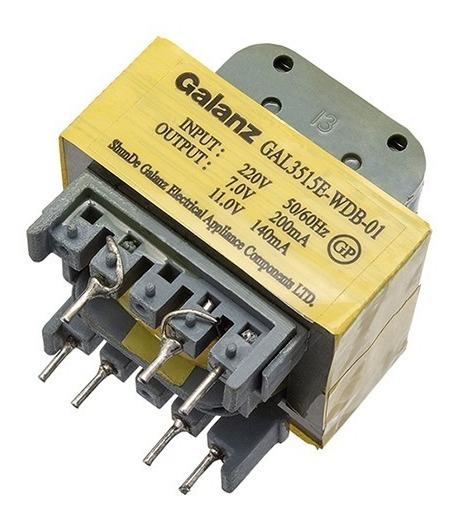 Transformador Microondas 220 V. / 7v E 11v Gal 3515e-wdb 01
