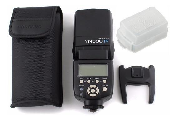 Flash Yongnuo Yn 560 Iv + Difusor - Flash Versão 2018 - V.4