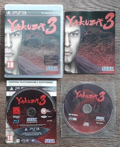 Yakuza 3 Edição Premium - Ps3