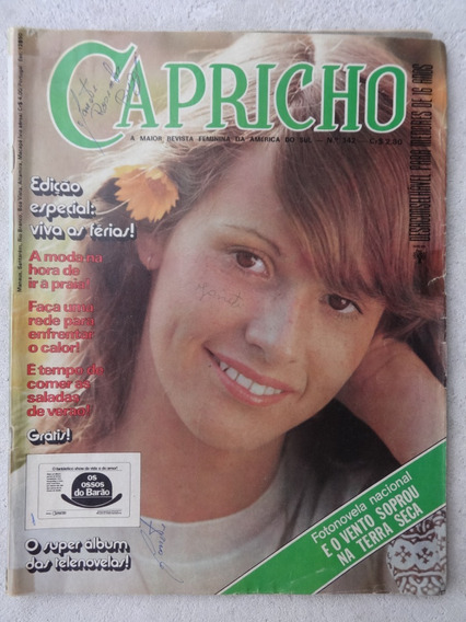 Capricho Nº 342 - Super Álbum De Novela - Fotonovela - 1973