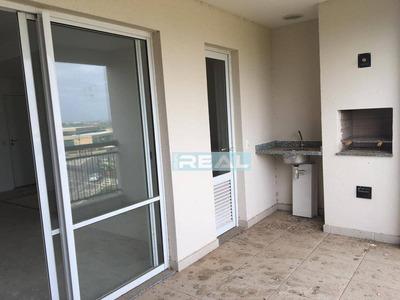 Apartamento Com 3 Dormitórios À Venda, 86 M² Por R$ 490.000 - Residencial Art&life - Paulínia/sp - Ap1169