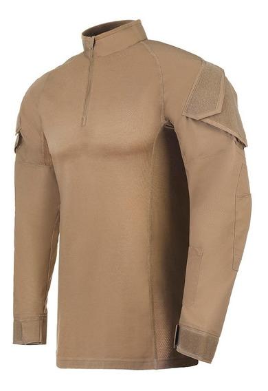 Combat Shirt Invictus Operator Caqui Militar Airsoft Origina