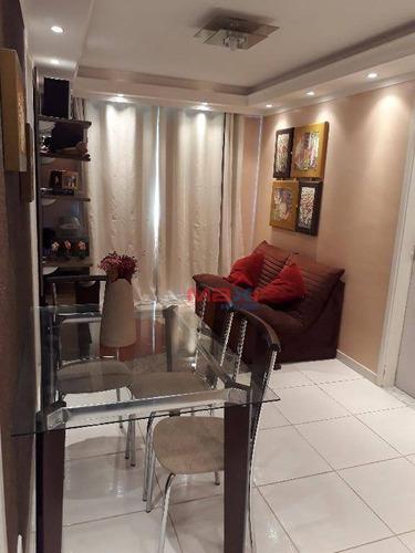 Apartamento 3 Dormitórios À Venda, 50 M², Vila Menk, Osasco, Sp - Ap0804