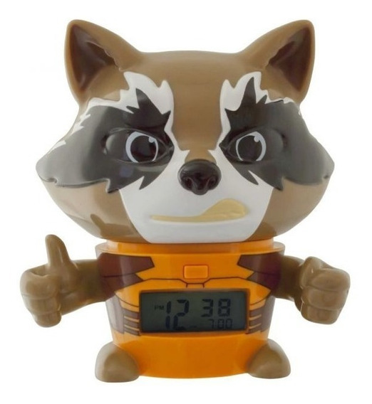 Reloj Marvel Rocket Raccoon Outlet - Lego & Bulbbotz Oficial