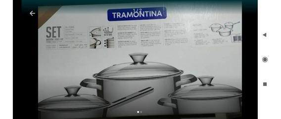 Juego De Ollas Tramontina