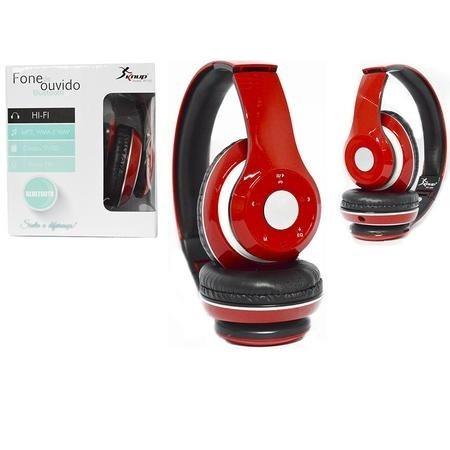 Fone De Ouvido Bluetooth Fm Stereo Radio Sd Kp-363 Knup