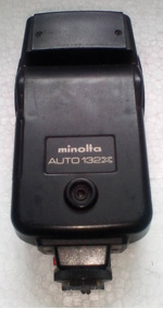 Minolta Auto 132x - Flash Eletronico Fotografico
