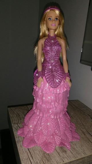 Boneca Barbie Em Eva Na Cor Desesjada