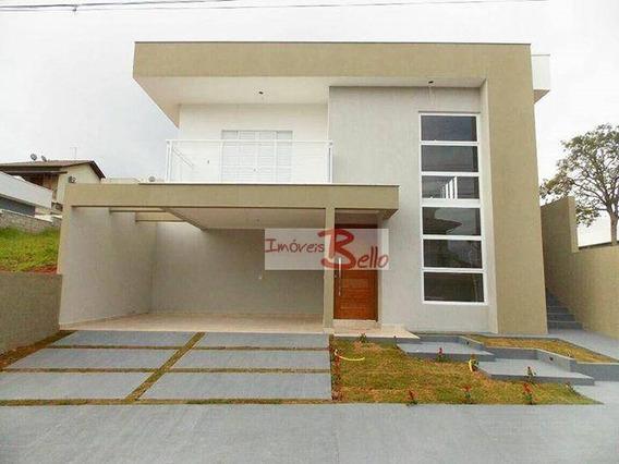 Casa Residencial À Venda, Condomínio Itatiba Country Club, Itatiba. - Ca0955