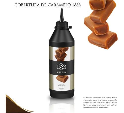 Imagem 1 de 1 de 1 Calda 1883 De Caramelo 500 Ml P/ Cafés/doces/bolos