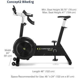 Concept2 Bikeerg Con Monitor Pm5, Bicicleta Estacionaria