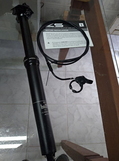Canote Retrátil Ks Lev Integra Dropper 31.6