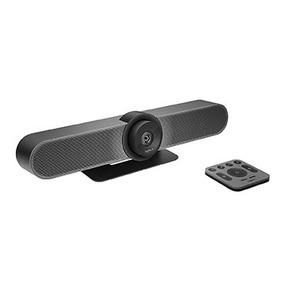 Câmera Para Videoconferência Logitech Meetup, 2160p, Preto